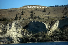 Hillside Penticton sign